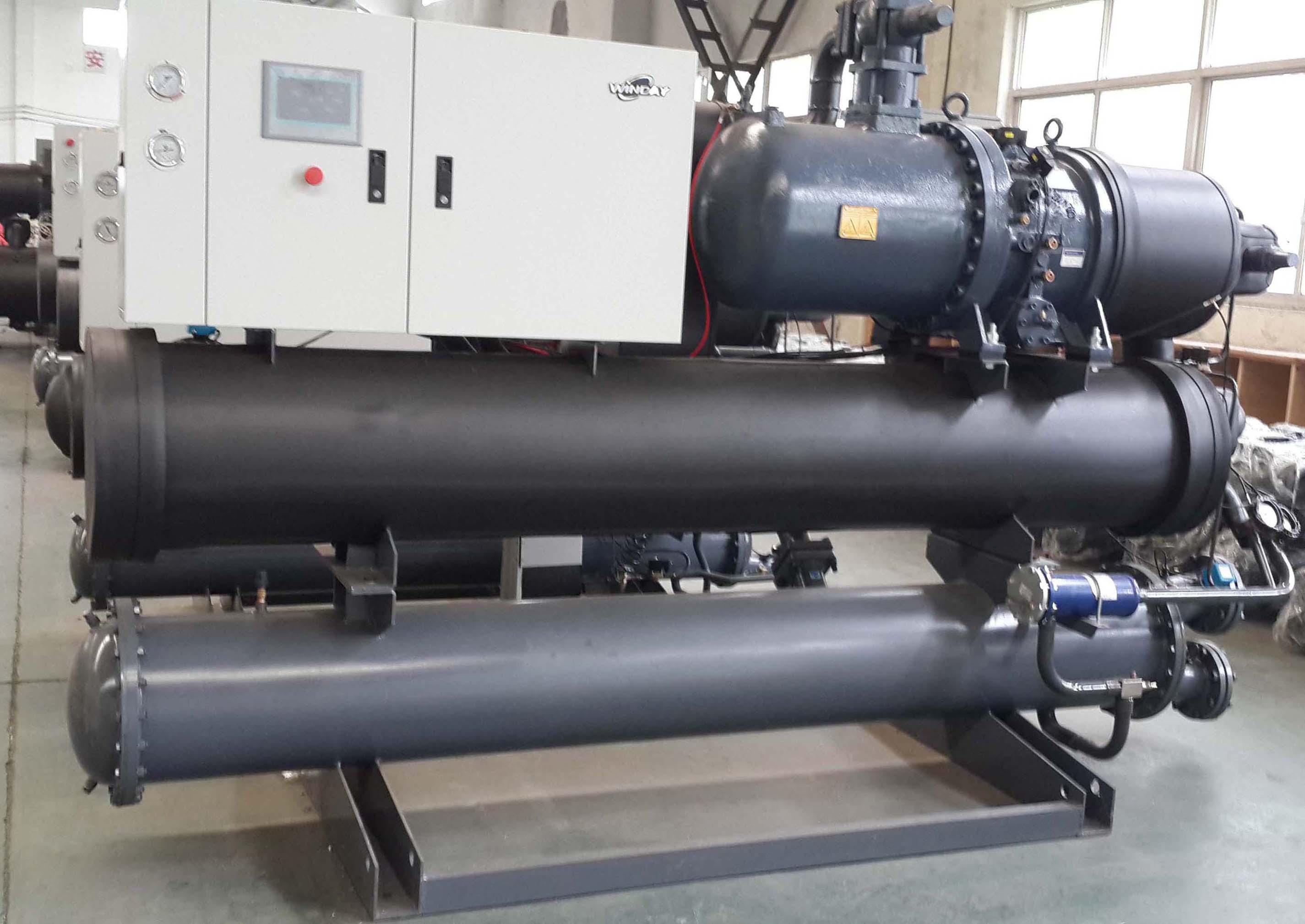 热回收水冷螺杆生产车间