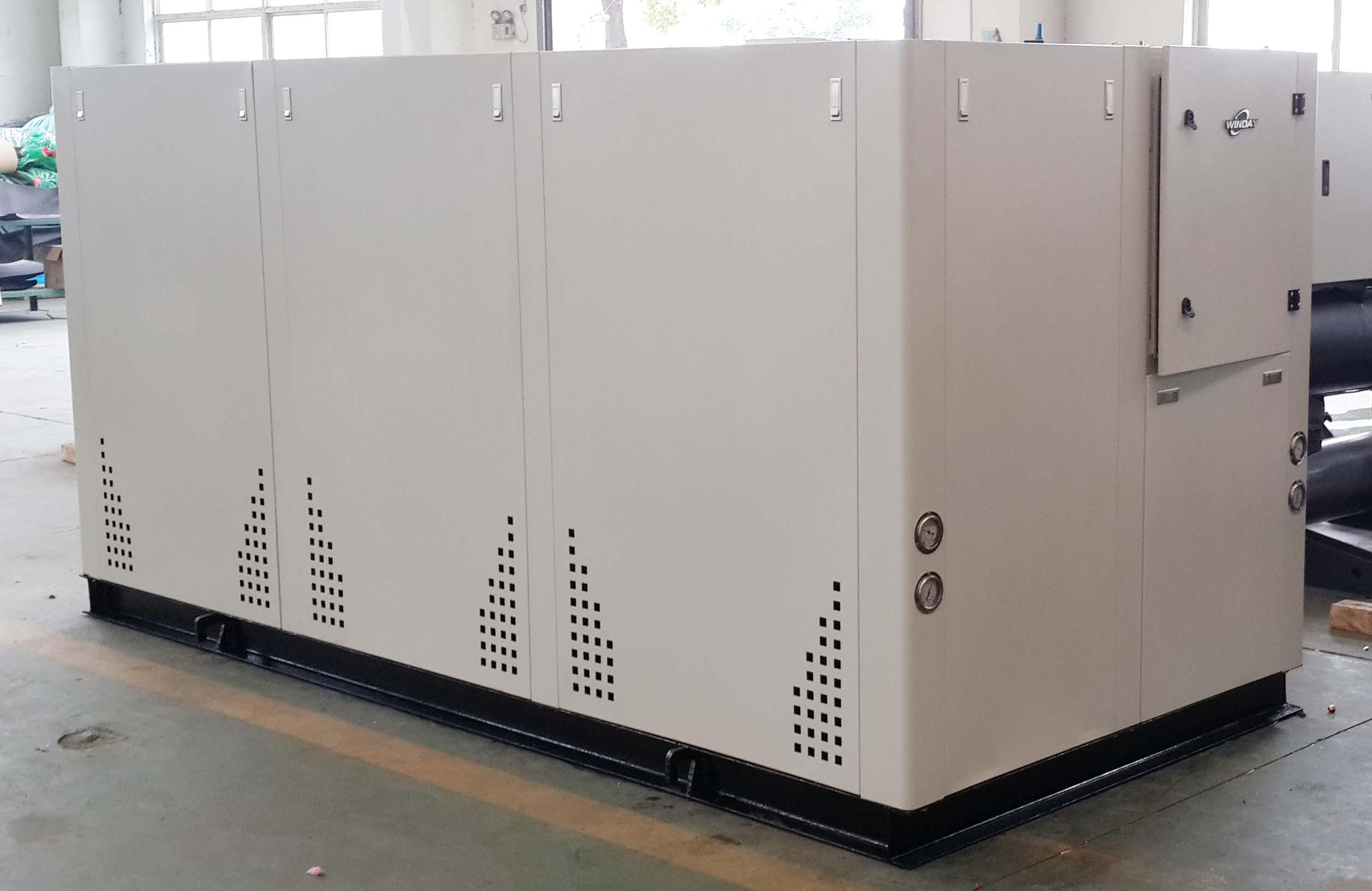 水冷箱式冷水机生产车间展示